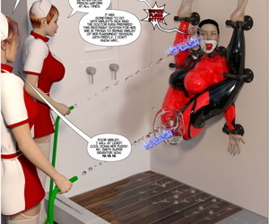New Arkham For Superheroines 1 2nd Edition - Humiliation and Degradation of Power Girl
