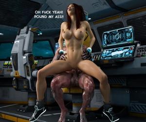 Bounty Huntress Arie: Cockpit - part 3