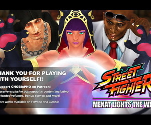 STREET FIGHTER / MENAT LIGHTS THE WAY