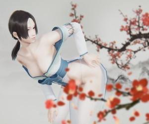 The plum flower fragrance