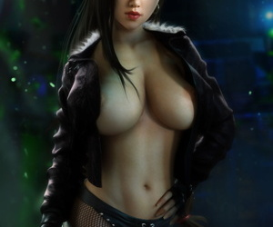 Tifa Lockhart - 3D Compilation - accouterment 2