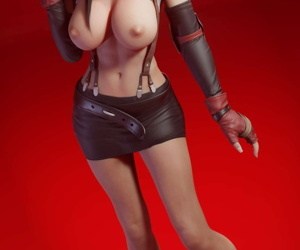 Tifa Lockhart - 3D Compilation - loyalty 3