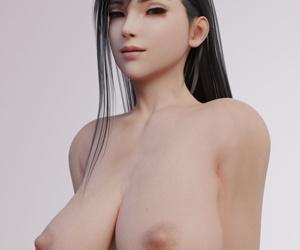 Tifa Lockhart - 3D Compilation