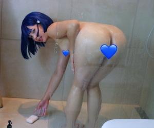 Cosplayer - Virtual Geisha - fastening 4