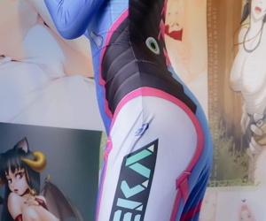 【少女映畫】D.VA战斗服