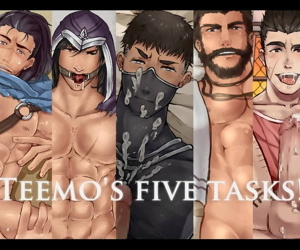 TEEMOS FIVE TASKS ! (League be proper of Legends)