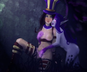 Caitlyn - Coalition shrink from proper of Legends