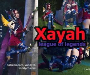 Xayah by Alina Latypova
