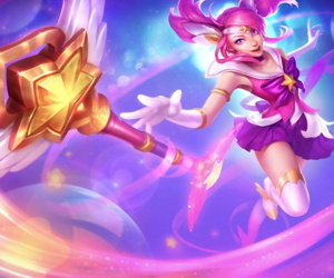 league of legends--LUX - part 2