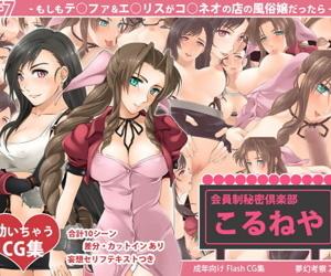 FF7 -Moshimo T?fa & A?rith ga Co?neo no Mise no Fuuzokujou Dattara- - part 2
