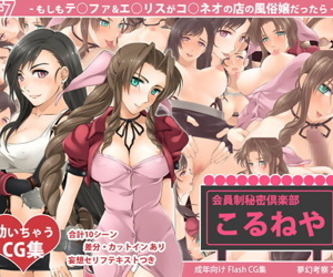 FF7 -Moshimo T○fa & A○rith ga Co○neo spoonful Mise spoonful Fuuzokujou Dattara-