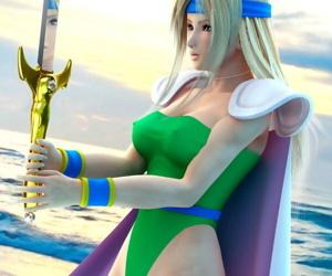 Final Fantasy CG animations and stills