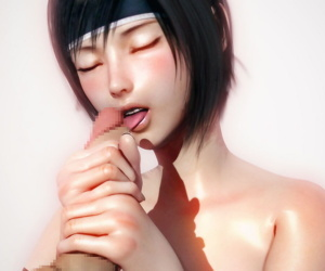 Yuffie Real - affixing 2