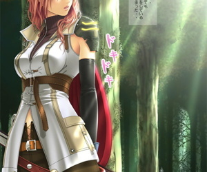 Punch-line Fantasy XIII Hentai porch - accouterment 2