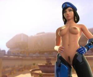Fareeha Amari aka Pharah - part 5
