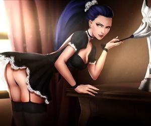 Amélie Lacroix aka Widowmaker - part 8