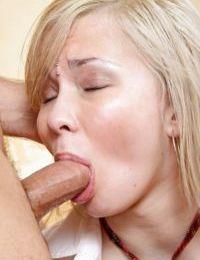 Blonde schoolgirl Sonja P taking a cock in her virgin 18 year old asshole
