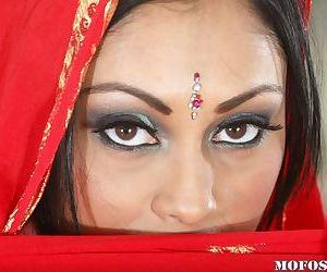 Hot MILF Priya Anjeli Rai revealing her big round boobs and juicy slit
