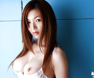 Pretty asian chick with wee interior Mai Hanano slipping wanting her lingerie