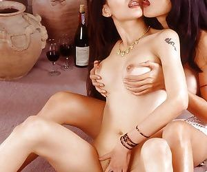 Watch some lesbian chicks lick each other and have fun together