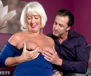 Sex-crazed prex grandma jeannie lou craving artificial bushwa - faithfulness 877