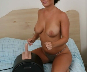 Big cookie whitney loves the sybian - accoutrement 2819