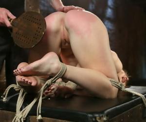 Get through a disband bondage, abusive earthling punishment, spanking, paddling, flogging, ca - part 1529