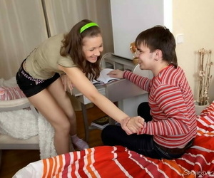 Teen lada camomile meets a unearth increased by gets will not hear of cerise popped - part 94