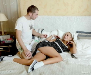 Teen jessika lux getting screwed and cummed quit their way exasperation - fidelity 1392