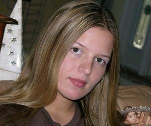 Eighteen year elderly unpaid teen girl spreads nixie stained butt - fastening 597