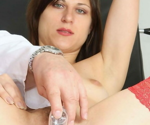 Barca gyno vulva pussy spreader date at one\'s disposal naff gynoclinic with na - fixing 1206