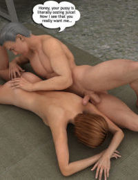 Magic Incest - Alice helps dad to be in shape - part 2