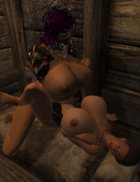 Oblivion Strap-on Sex