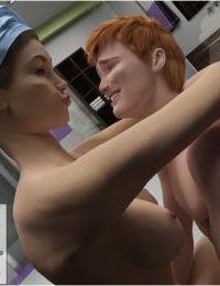3D Mom and Son Bathroom Fuck - part 3