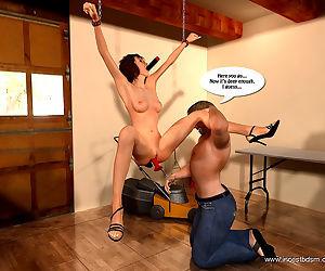 Little slut gives daddy his revenge