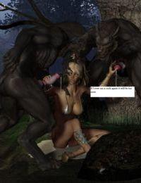 Werewolf orgy - part 2