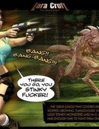 3D: Lara Croft. The Weed Rider