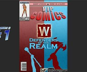 VipComics #5α Defenders of the Realm