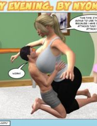 Nyom-Naughty Evening - part 4