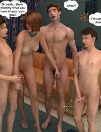 Foursome Incest Adventure - part 2