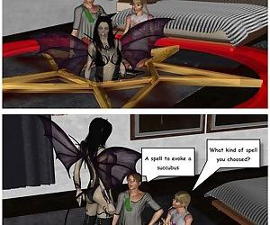 The twins and the succubus