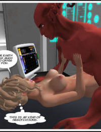 Cassi Trek: Erotic Adventures of a Sexy Ambassador from Earth. created in Second Life with Pornstar Cassi. Star Trek parody