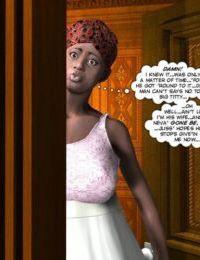 Chastity Belt of Black Virgin 3D - part 2