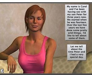 Carol & Peter- chapter 03: Naked day