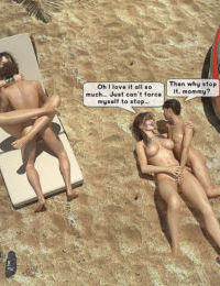The Hot Orgy in the Hot Sun - part 2