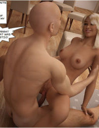 Blond bombshell screwed by her dad - part 2