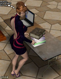 Babette the Overbooked Librarian