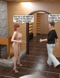 Mom and Son Sauna - part 3